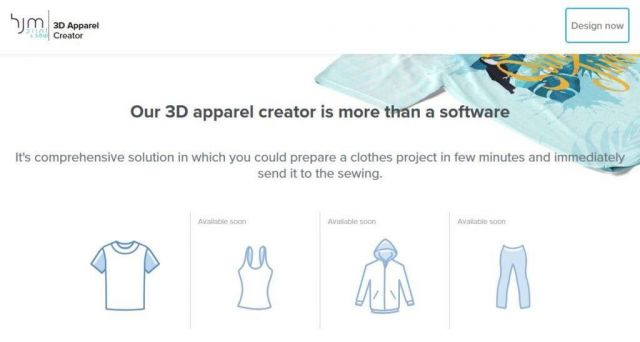 clothes designing and personalization online