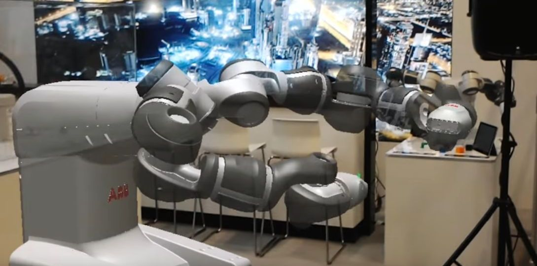 ABB rzozszerzona rzeczywstość w robotyce i serwisie maszyn